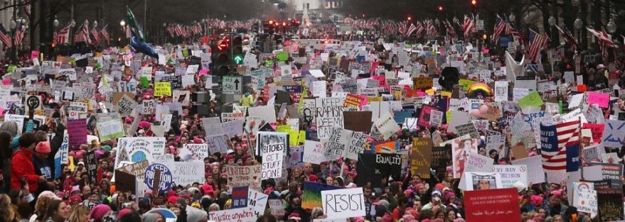 Women's March, Washington, Januar 2017